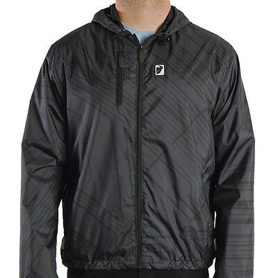 THOR Motocross Gusto Windbreaker Jacket (Black) L (Large)