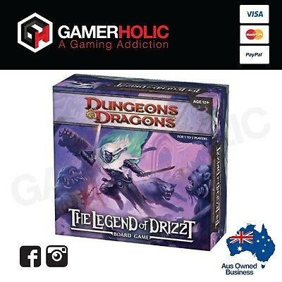 Dungeons & Dragons Legend Of Drizzt Board Game Brand New