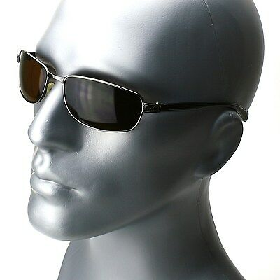 Mens Rectangle Frame Classic Sunglasses New Fashion Driving Shades