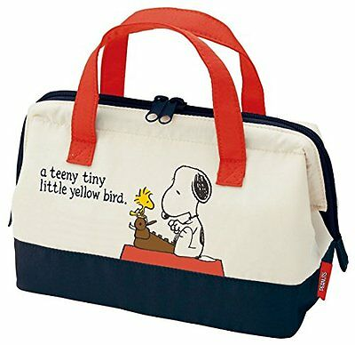 NEW SNOOPY Insulation Bento Lunch Box Cooler Bag Snoopy Skater