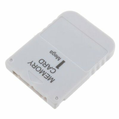 Hot Sale White 1 MB 1MB Memory Card Stick For Playstation 1 One PS1 PSX Gam F6