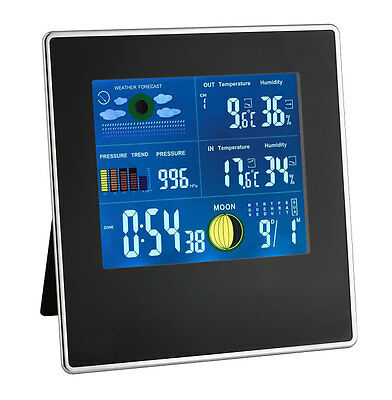 Wireless Weather Station Gallery Black Tfa 35.1126 Air Humidity Colour Display