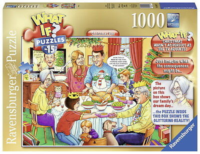 Ravensburger WHAT IF? No 15 Christmas Day 1000 piece Jigsaw Puzzle