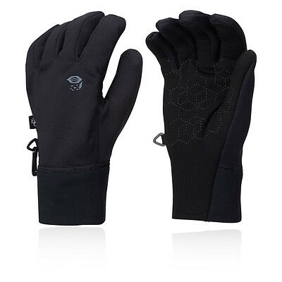 Mountain Hardwear Power Stretch Stimulus Mens Black Outdoors Warm Gloves