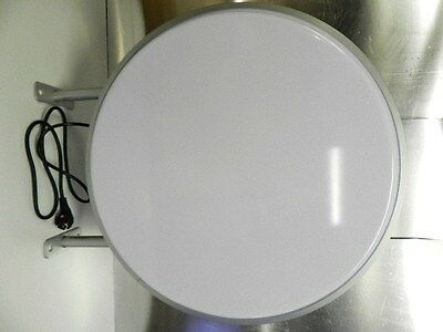 Lightbox 2-sided Round 600 mm Illuminated sign also with LED for