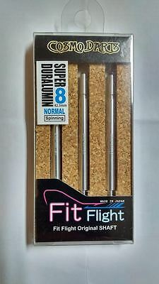 COSMO FIT SUPER DURALUMIN NORMAL SPINNING #8 SHAFTS 42.5mm  FOR FIT FLIGHTS ONLY