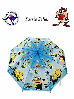 Minions Umbrella Despicable Me Boys Kids 77Cm Diameter