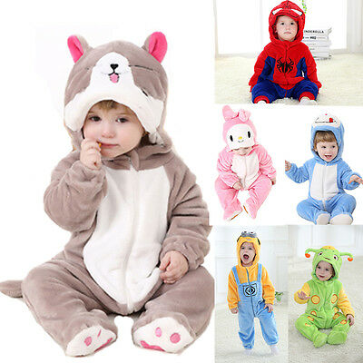 Christmas Winter Baby Onesie Kigurumi Cosplay Pajamas Infant Cartoon Newborn New