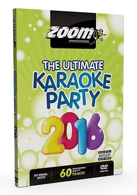 Zoom Ultimate Karaoke Party 2016 (2 x Karaoke DVD  (New) Best Quality 2016 Disc