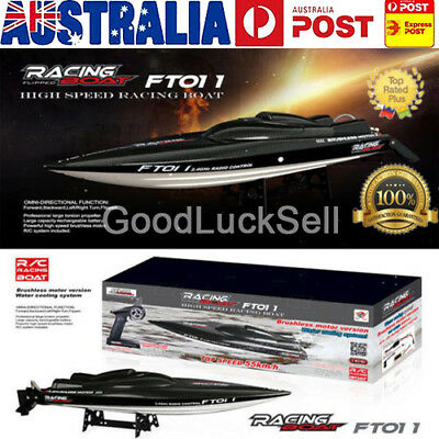 Feilun FT011 65CM 2.4G Water Cooled Brushless Motor RC Racing Boat w/ Remote AU