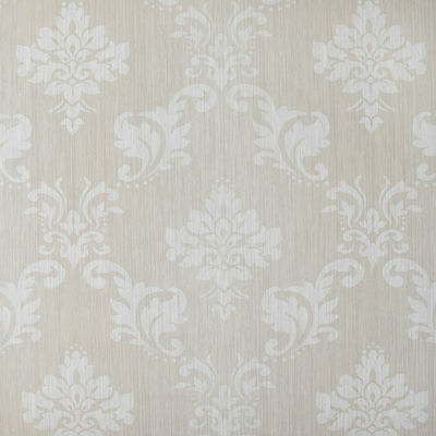Natural Beige Damask PVC Vinyl Oilcloth Wipeclean Tablecloth Many Designs