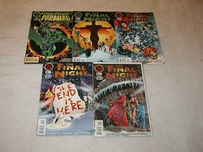 Final Night U-PICK ONE #1, 2, 3 or 4 DC (1996) Issues PRICED PER COMIC