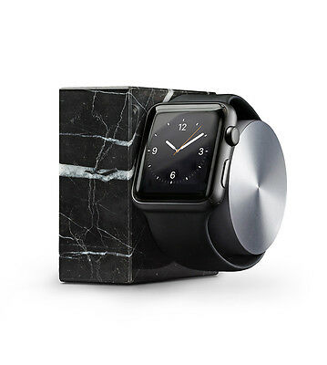 NativeUnion DOCK for Apple Watch Marble Edition. Brand new. Black