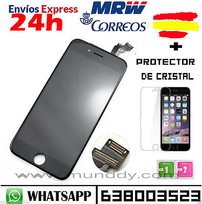 "Pantalla Completa Display Retina Iphone 6 4.7"" LCD Tactil NEGRO NEGRA"