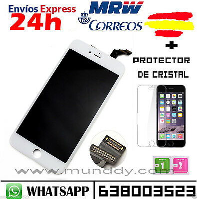 "Pantalla Completa Display Retina Iphone 6 4.7"" LCD Tactil BLANCO BLANCA"
