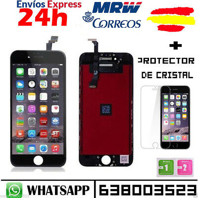 "Pantalla Completa Display Retina Iphone 6 PLUS 5.5"" LCD Tactil NEGRO NEGRA"