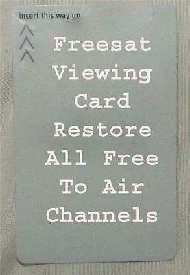 Activated Freesat Viewing Card Plus And HD