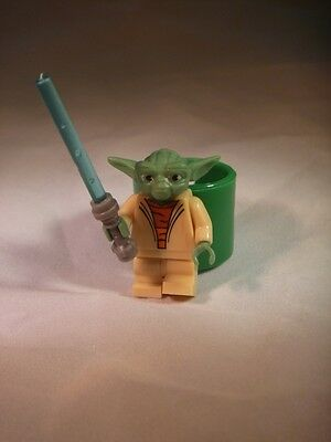 Star Wars Yoda Mini Figure Woggle - Scout Cub Brownie Slider Neckie - 101