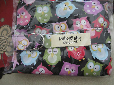 NURSING COVER Up milky baby * BREASTFEEDING  Cover Owls Zzzzzzz