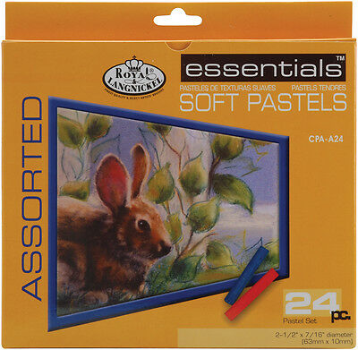 Soft Pastels 24/Pkg Assorted Colors CPAA24