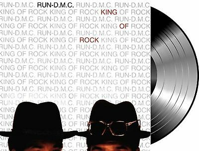 Lp Vinilo Run Dmc King Of Rock New And Sealed 180G Vinyl Old Hip Hop School