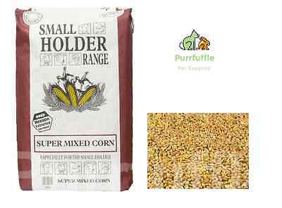 20Kg Allen & Page Super Mixed Corn Peas Grit & Calcium Chicken Poultry Duck Food