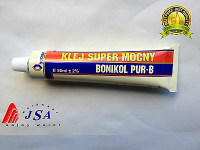 Bochem BONIKOL PUR-B 50ml Strong Shoe Repair Glue Contact AdhesiveLeather&Rubber