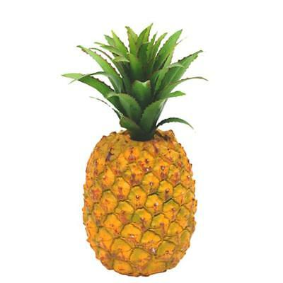 Artificial Decorative Pineapple Party Prop - Tropical Hawaiian Party Fruit Props