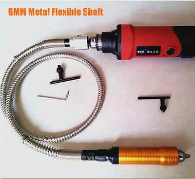 6MM Metal Flexible Shaft Tube + Handle, for Electric Grinding Machine