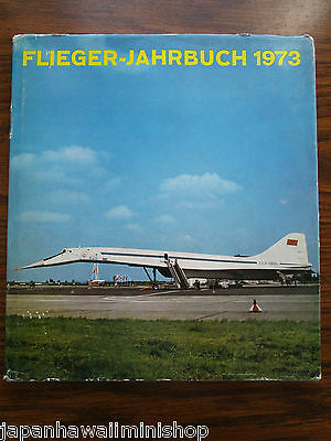 Flieger-Jahrbuch Aviator Yearbook for air and space annuaire Berlin DDR GDR 1973