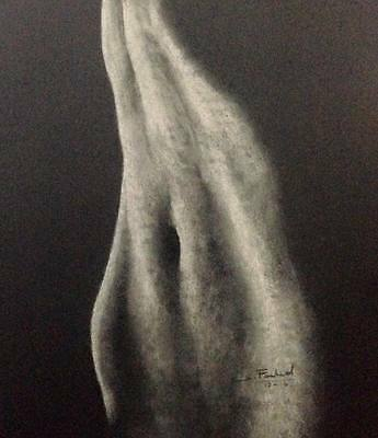 Figure art, Clearance Sale, Original, 20x16 inches, Framed