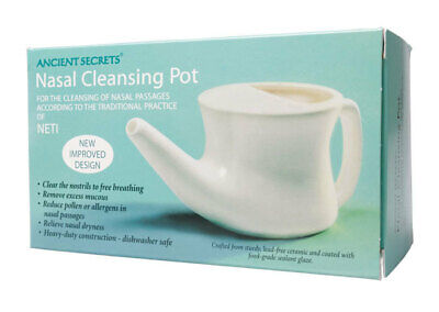 NETI Ceramic Nasal Cleansing Pot  - Ancient Secrets