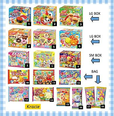 5-Pc Set Combination Your Choice Kracie Popin Cookin Gummy Candy Kits USA Seller