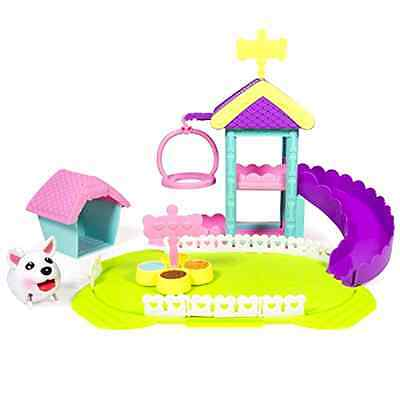 Dog Park Playset Chubby Puppies Ultimate Plastic Battery Required Pretend Play