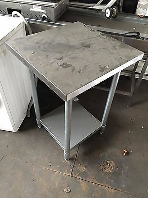 Stainless Steel Commercial Catering Table 600mm x 600mm