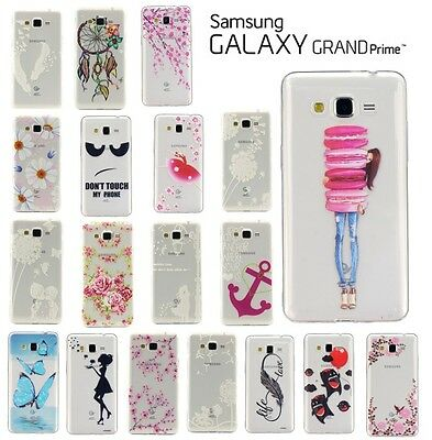 Etui Housse Coque Transparente Case Cover Samsung Galaxy Grand Prime G530