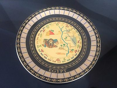 """NEW Ancient Egyptian Porcelain Plate 5"""" '#4#"""