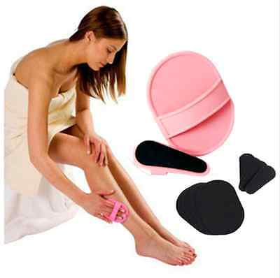 Smooth Leg Arm Skin Pads Face Upper Lip Hair Removal set