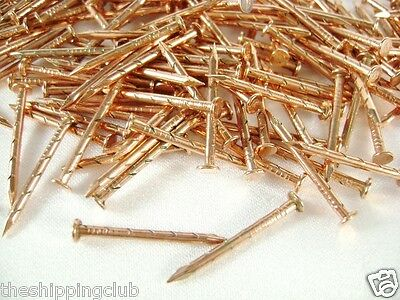 3 boxes Weather Strip COPPER NAILS 4.5oz HILLMAN 3/4 x 17 Specialty Construction
