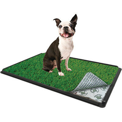 "Indoor Turf Dog Potty Classic Plus Connectable 16""X24"" With Pad GP16P24V"