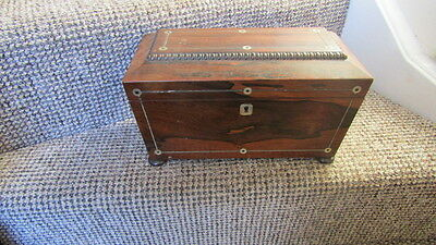 antique coffin tea chest