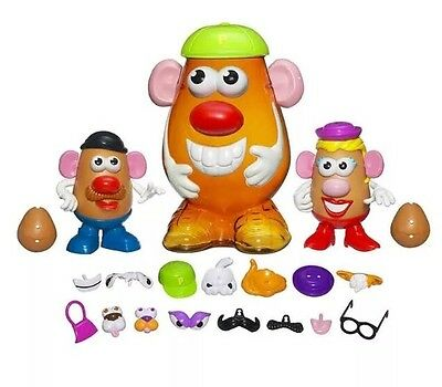 PlaySkool Mr Potato Head Container with Accessories (2+ Years) 45 Pieces