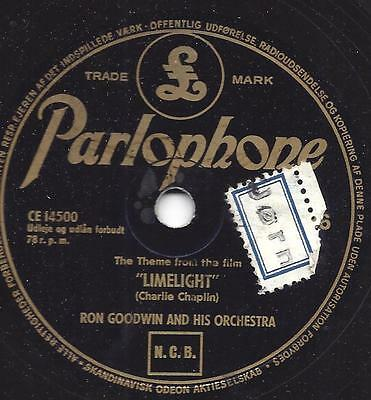 Ron Goodwin Orchester spielt Charlie Chaplin : Theme from Limelight