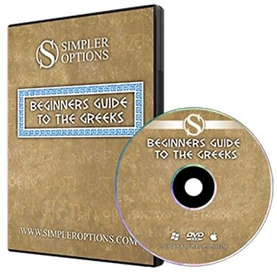 Simpler Options - Beginners Guide to the Greeks (DVD - Englisch)