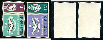 MNH Pitcairn Islands #54, 55 (Lot #10768)