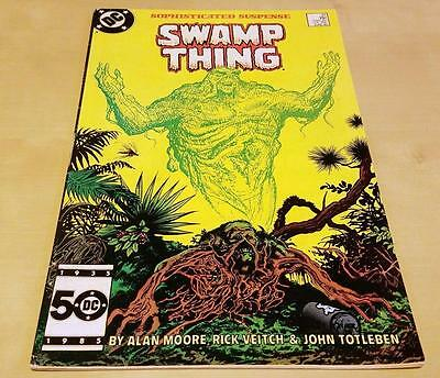 Swamp Thing #37 (1982 2nd Series) 1st Appearance of John Constantine KEY FN+