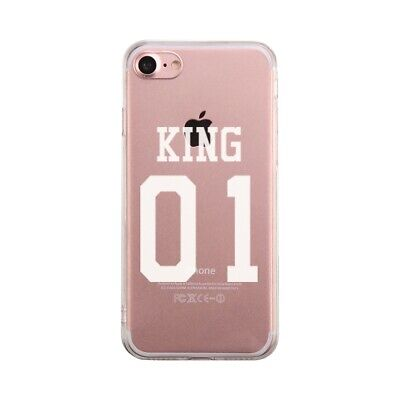 1d7c9ae236 365 PRINTING KING 01 Queen 01 Couple Phone Case Set Cute Matching ...