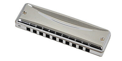 Suzuki MR-350 Pro Master 10 holes Hammond Harmonica (Choose any keys)