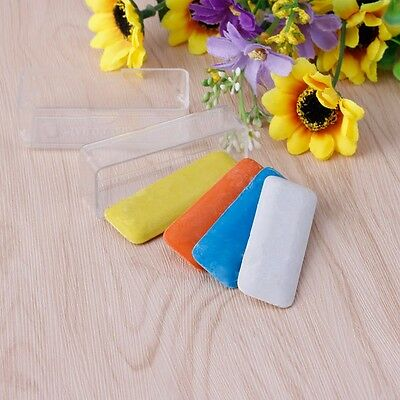 4x Tailor's Fabric Chalk Dressmaker Triangle Tailor Fabric Chalk 4 Colors