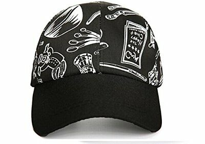 Chef Works Cool Vent Collection Black Adjust Baseball Cap Hat